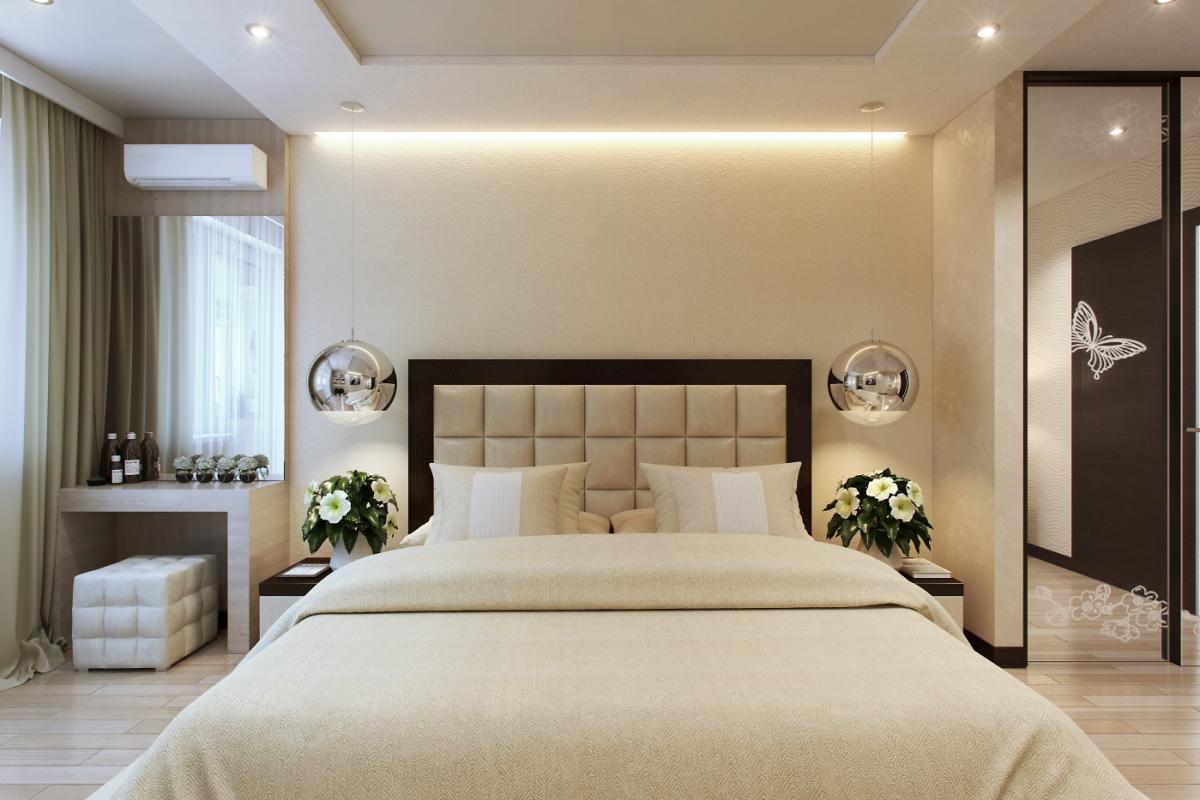 дизайн спален фото в светлых