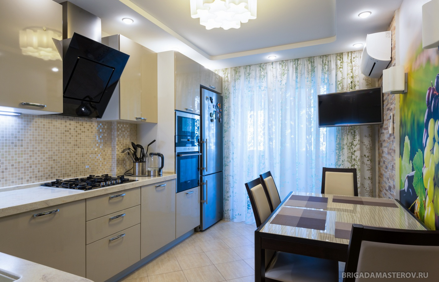 Современный ремонт новой квартиры дизайн реальные фото