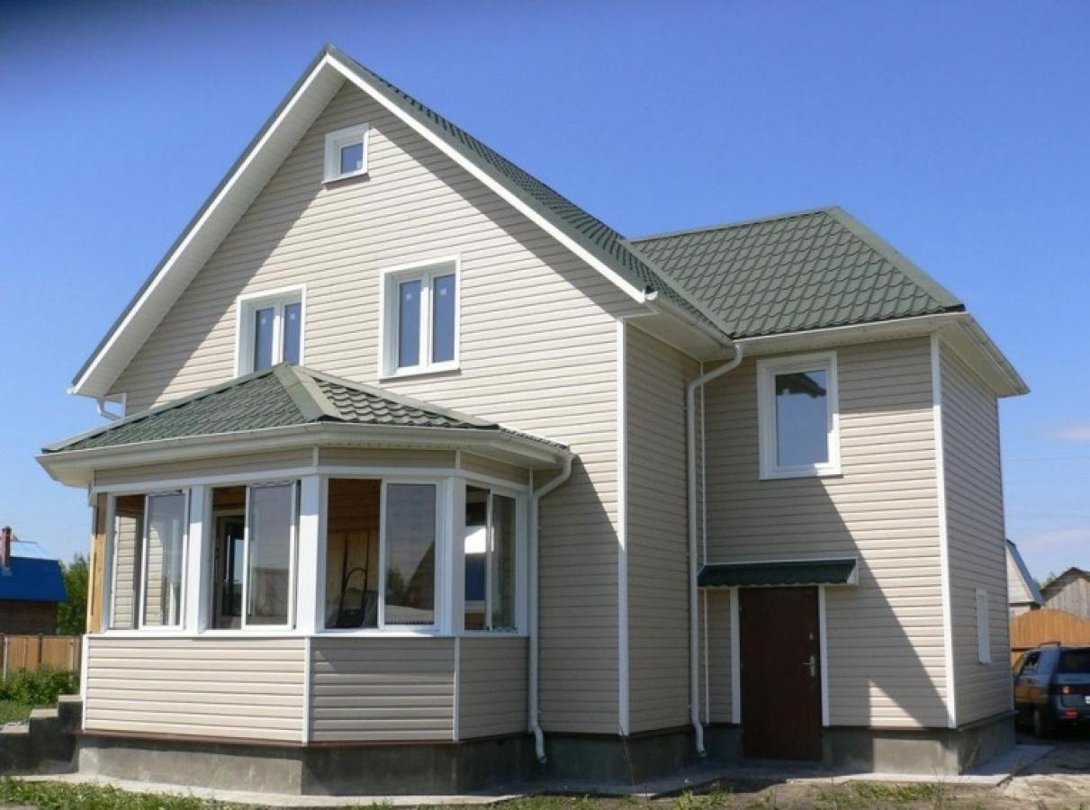 Дизайн сайдинга на домах